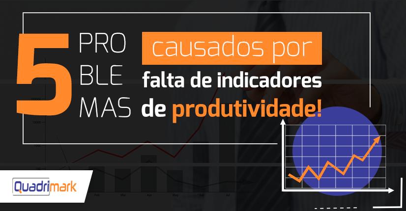 Problemas causados por falta de Indicadores de produtividade